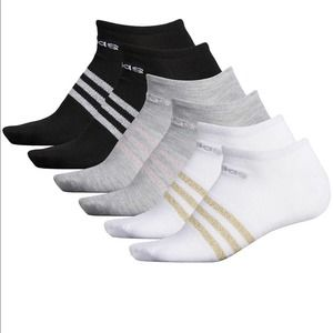 Adidas Metallic Superlite Compression Socks NEW